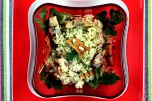 salade de riz à la piémontaise