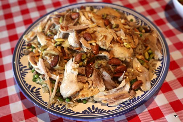 Riz au poulet et 7 épices